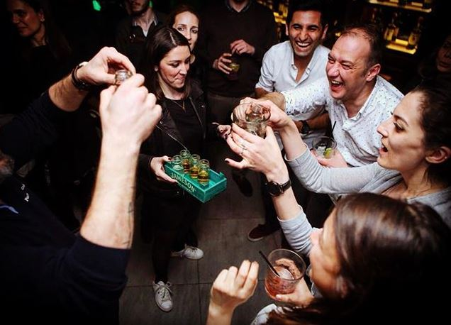 Shots for Everyoneat Up Karakoy